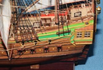 Расцветка модели корабля Орёл