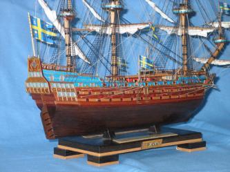 Оклееный борт корабля Wasa