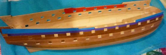 Корпус модели с прорезанными портами