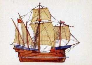 модель венецианского корабя
