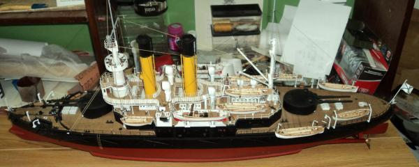 3d Модель броненосца Адмирал Ушаков