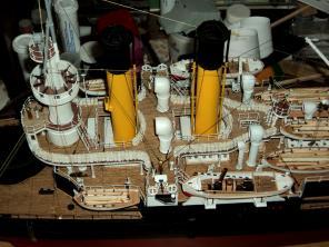Модель броненосца Адмирал Ушаков,  4