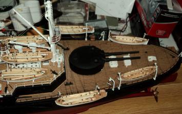 Модель броненосца Адмирал Ушаков, 6