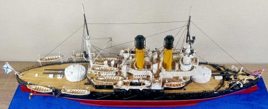 Модель броненосца Адмирал Ушаков, 9