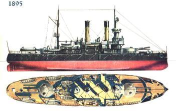 Чертёж броненосца Адмирал Ушаков, 6