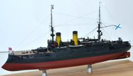 Модель броненосца Император Николай 1 -1