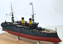 Модель броненосца Император Николай 1 -2
