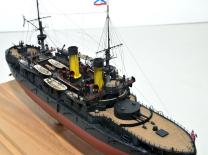 Модель броненосца Император Николай 1 -5