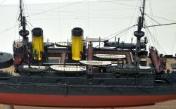Модель броненосца Император Николай 1 -6