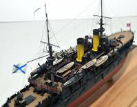 Модель броненосца Император Николай 1 -7