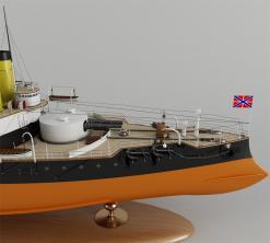 Модель броненосца Наварин, 9