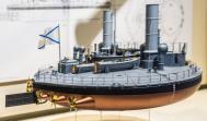 Модель броненосца Новгород