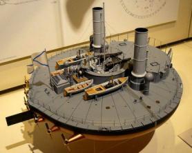 Модель батареи Новгород, Морской музей в Гамбурге