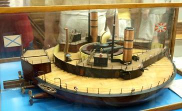 Модель батареи Вице-адмирал Попов