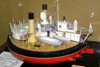 Модель батареи Новгород, Музей в Николаеве