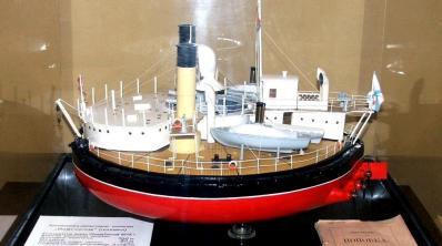 Модель броненосца Новгород, музей в Николаеве