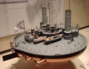 Модель броненосца Новгород, Морской музей Гамбурга