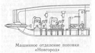 схема броненосца Новгород