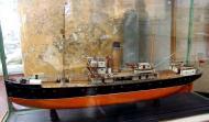 Модель ледокольного парохода Георгий Седов