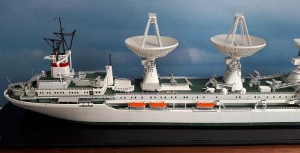 миниатюрная модель судна Космонавт Юрий Гагарин