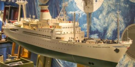 Модель судна Академик Курчатов