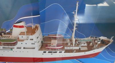 Модель судна Михаил Ломоносов