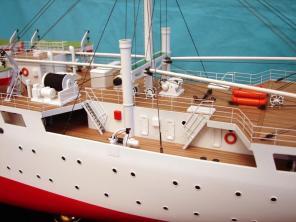 Авторская модель судна Михаил Ломоносов 8