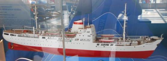 Авторская модель судна Михаил Ломоносов