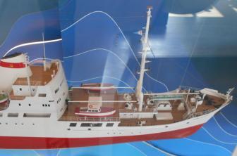Коллекционная модель судна Михаил Ломоносов