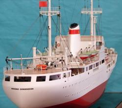 модель судна Михаил Ломоносов  ручной работы 4