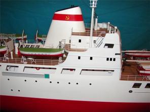 Авторская модель судна Михаил Ломоносов 5