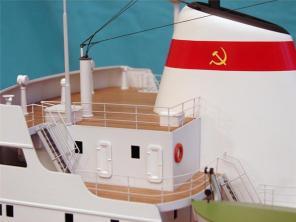 Коллекционная модель судна Михаил Ломоносов 6