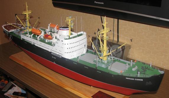 Авторская модель судна Михаил Сомов