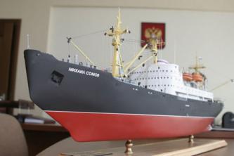 модель судна Михаил Сомов ручной работы