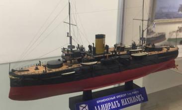 Модель крейсера Адмирал Нахимов
