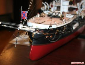 Авторская модель фрегата Адмирал Нахимов