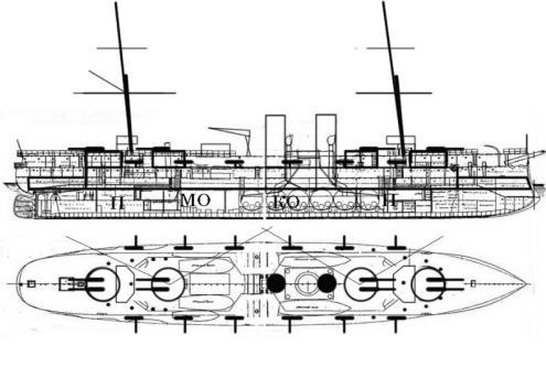 пуушки крейсера Адмирал Нахимов