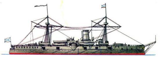 после первой модернизации крейсера Адмирал Нахимов