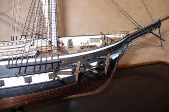 Авторская модель фрегата Александр Невский