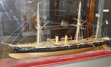 Модель крейсера Адмирал Корнилов