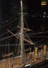 модель крейсера Адмирал Корнилов ручной работы ЦВММ