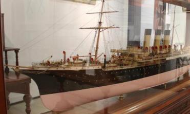 Модель парохода Херсон