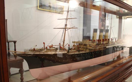 Авторская модель парохода Херсон
