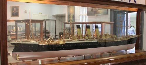 Авторская модель парохода Херсон ЦВММ