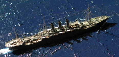 Авторская модель крейсера Лена