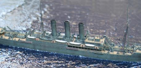 модель крейсера Лена ручной работы