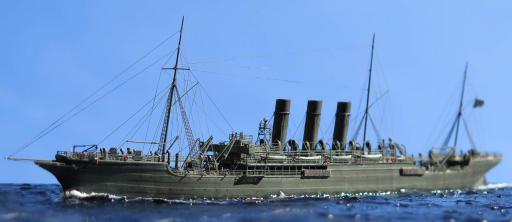 Профессиональная модель крейсера Лена