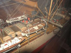 Авторская модель учебного корабля Океан 8
