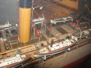 Коллекционная модель учебного корабля Океан 9