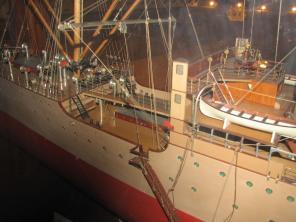 Авторская модель учебного корабля Океан 1